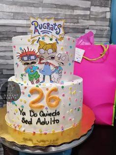26 Birthday Cake, 26th Birthday, Unicorn Birthday, Happy Birthday Me, Birthday Ideas, Rugrats, Soul Cake, Funny Cake, Drip Cakes