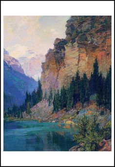 Montana--by my great great Uncle Edward Henry Potthast