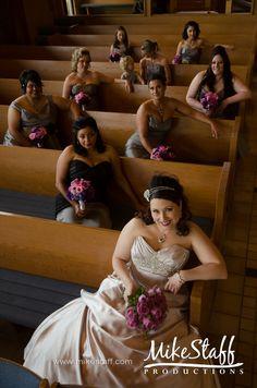 Good photo to have. Except with me and my beautiful and skinny, bridesmaids!