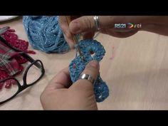 Crochetando com EuroRoma e Marcelo Nunes - Sousplat Borboleta | Parte 2 - YouTube
