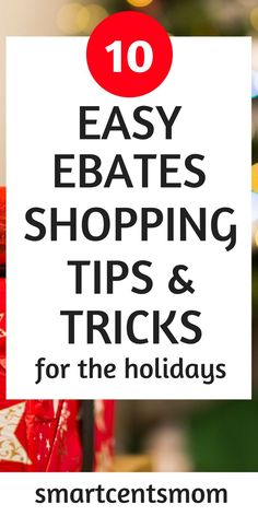 These ebates shopping tips and tricks are sure to save you money on your Christmas budget. Ebates is perfect for online shopping to save time and money during the holidays. Ways To Save Money, Money Tips, Money Saving Tips, How To Make Money, Money Savers, Christmas On A Budget, Christmas Shopping, Diy Christmas, Shopping Hacks
