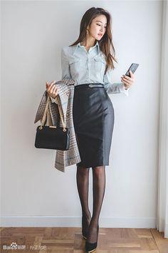 English Conversation Program from Shenyang, China -… – … - corporate attire women Business Professional Outfits, Business Casual Outfits, Classy Outfits, Summer Business Attire, Look Fashion, Korean Fashion, Girl Fashion, Fashion Outfits, Workwear Fashion