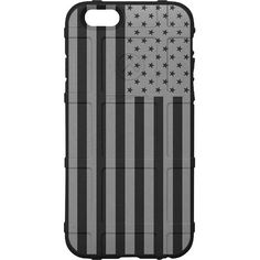 CUSTOM PRINTED Limited Edition - Authentic Made in U.S.A. Magpul Industries Field Case, US Flag Subdued Grey Print (ugo)