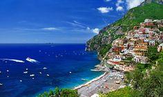 #Grecia, #costa, #personas, #casas, #montañas, #mar, #naturaleza, #árboles