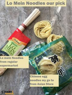 30 mins restaurant style authentic chicken lo mein recipe made with the best ever Lo Mein sauce.F Chang's Chicken Lo Mein. Chicken Stir Fry With Noodles, Stir Fry Noodles, Veggie Fries, Veggie Stir Fry, Chili Garlic Sauce, Soy Sauce, Lo Mein Noodles, Chicken Lo Mein