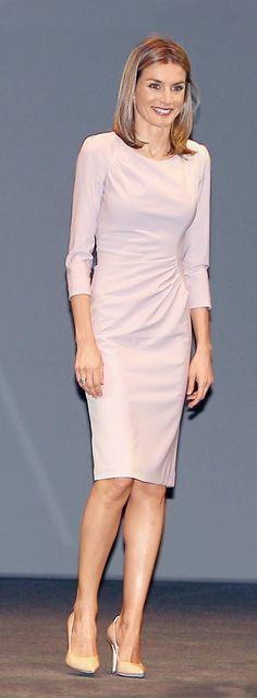 *STYLE , Queen Letizia Spain, Rosa