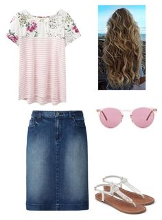 """Untitled #18"" by anabella089 on Polyvore featuring Joules, Uniqlo, Apt. 9 and Oliver Peoples"