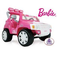 Coche barbie en http://www.tuverano.com/coches-electricos-infantiles/436-coche-barbie-.html