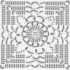 Pasatiempos entre hilos y puntadas: Mantel y mantas con patrones