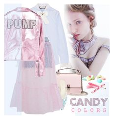 A new Cinderella by laste-co on Polyvore featuring Gucci, MANGO, Topshop, Delpozo, Fendi and Candycolors