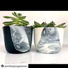 How to make a marbled planter # marbled # planter – Ceramic Pottery Bowls, Ceramic Pottery, Pottery Art, Ceramic Art, Pottery Wheel, Pottery Mugs, Ceramic Techniques, Pottery Techniques, Pottery Painting Designs