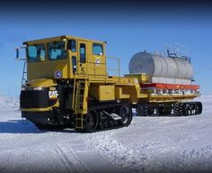 Haul Truck on tracks from caterpillar | Modified Cat Challenger based on 95E tractor by HerbieQ