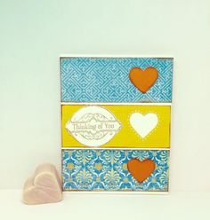Anniversary greeting card with love paper handmade greeting love are you thinking of valentines day yet dont forget a handcrafted card like handmade greetingshandmade m4hsunfo