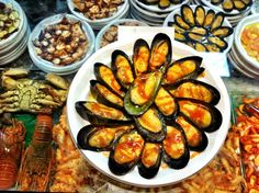 Tapas at Mercado de San Miguel - Ten things to do in Madrid