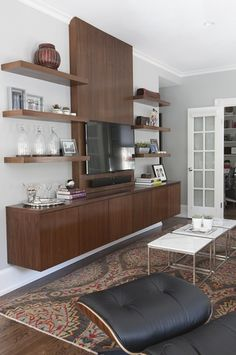Beacon Hill Modern living space  Living  Contemporary  MidCenturyModern  Modern by Justine Sterling Design