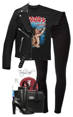 """465//"" by trulyleah ❤ liked on Polyvore featuring J Brand, Yves Saint Laurent and Mulberry"