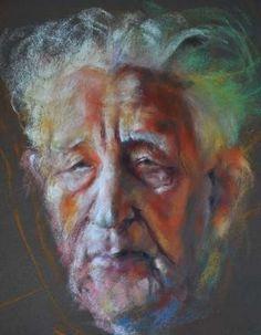 Margaret Ferguson - Reverend- Pastel - Painting entry - April 2010 | BoldBrush Painting Competition