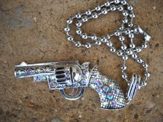 PISTOL ANNIE NECKLACE by turquoisecowgirl on Etsy, $22.00
