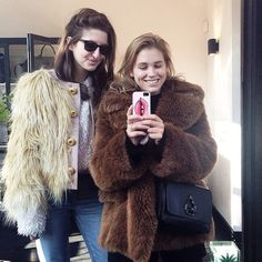 Sabrina Meijer from AfterDRK is wearing Zelma Faux Fur from D.EFECT AW14