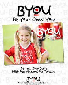 Cymphonique Self-Esteem BYOU Products - Be Your Own You Apparel     Best Site Helping PeopleGain confidence.