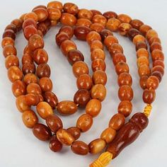 Collectible Old Amber Beads - Islamic World