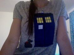 DIY TARDIS Shirt - YouTube