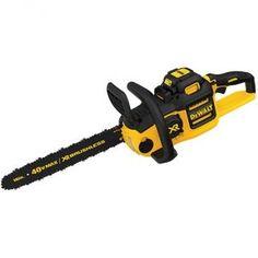 10. Dewalt DCCS69OM1 Cordless 16-Inch 40 Volt Chainsaw