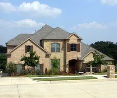 Plan Hill Country Dreaming with Options Luxury House Plans, Dream House Plans, House Floor Plans, Bungalow Style House, Aka House, Double Entry Doors, Monster House Plans, Architectural Design House Plans, Future House