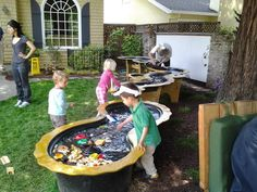 """A visit to a """"playborhood"""" that creates common space for kids to play."""