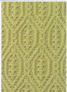 Lace Knitting Stitch #17