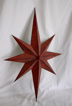 Vintage Style 8 Point Metal Star Primitive by AgingBeautyBoutique