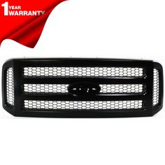 PUNISHER MESH GRILLE GRILL PLATINUM EDITION BRUSHED STAINLESS EMBLEM