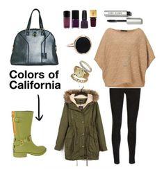 Iniziare la settimana vi risulta difficile? La soluzione… leggings maglione e rainboot Colors of California!!