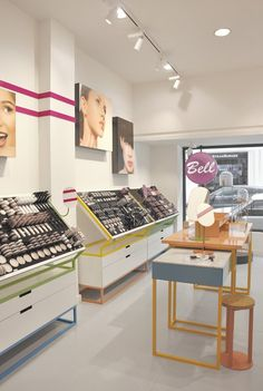Bell Cosmetics concept store, Madrid, 2013 - 5LAB