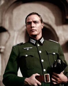 "Marlon Brando in "" The Young Lions"""