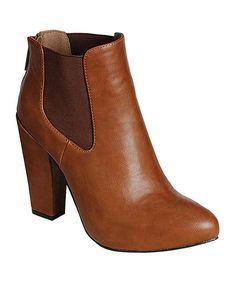 Another great find on #zulily! Tan Nina Bootie by Breckelle's #zulilyfinds