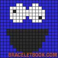 Alpha Friendship Bracelet Pattern #11757 - BraceletBook.com