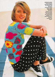 Dolly September 1991 | Angelique Bennett