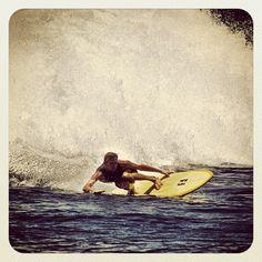 Tyler Warren carving out a bottom turn in Indo Surf City, Surfing, Soap, Ocean, Beach, Artwork, Work Of Art, Auguste Rodin Artwork, Surf