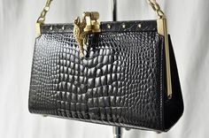 KIESELSTEIN-CORD alligator handbag.  Adore KC...