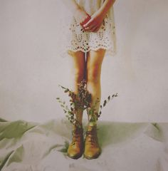 prendre racine by victoriaaudouard on DeviantArt High Fashion Photography, Editorial Photography, Victoria, Young And Beautiful, Soft Grunge, Bridal Shoes, Wiccan, Flower Prints, Girl Photos