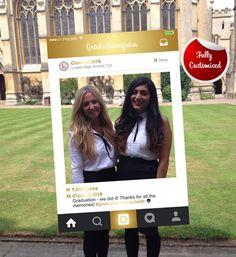 Graduation Instagram Frame Photo Booth Prop, Bespoke Design, Personalised Frames, Digital Download, Instagram Photo Prop