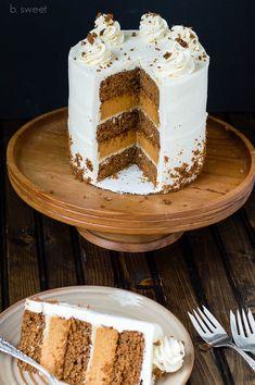 Ginger Spice Pumpkin Pie Cake