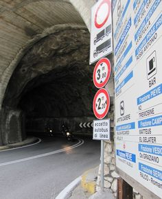 Route richting Tremosine
