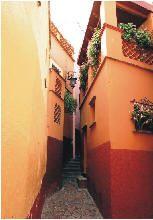 Guanajuato.- Callejón del Beso