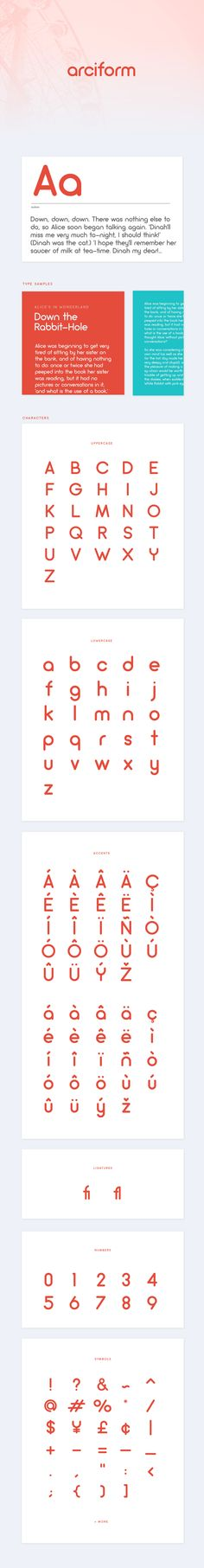 A geometric sans serif  typeface with rounds and a light and fluffy feel.