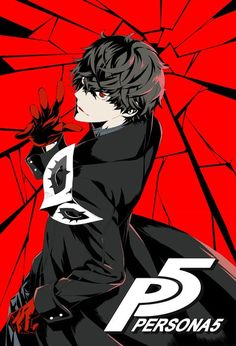 [pixiv] Persona 5 artwork! - pixiv Spotlight. An awesome video game poster.