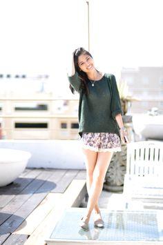 sweaters,shorts/zara