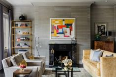 Exceptional update to an 1860s pied-a-terre in Beacon Hill