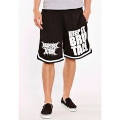 Despised Icon - Keep It Brutal Striped - Shorts - Boys - Impericon.com Europe